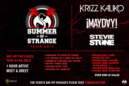 Summer Of Strange Tour