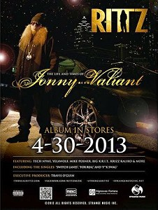 Rittz - Life And Times Of Jonny Valiant Poster