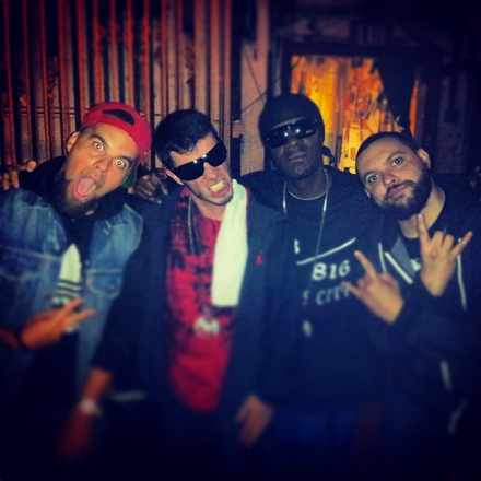 Bernz, Ubiquitous, Brotha Lynch Hung and Wrekonize