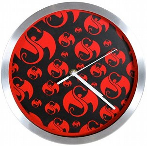 Strange Music - Black With Red Snake And Black Clock
