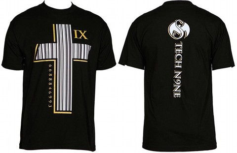 Tech N9ne - Black Barcode T-Shirt