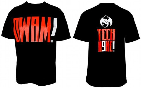 Tech N9ne Black DWAM! T-Shirt