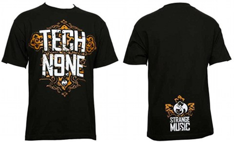 Tech N9ne - Black Ornament T-Shirt