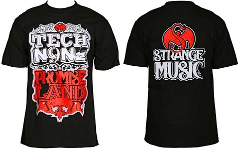 Tech N9ne - Black Promiseland T-Shirt