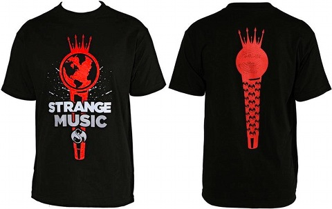 Tech N9ne - Black World Microphone T-Shirt