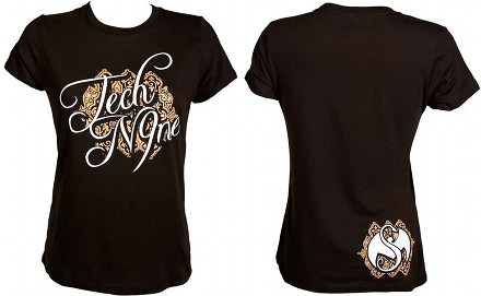 Tech N9ne - Ladies Black Fancy T-Shirt
