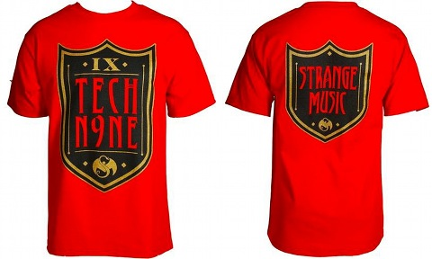 Tech N9ne - Red Armour T-Shirt