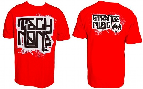 Tech N9ne - Red Lockup T-Shirt