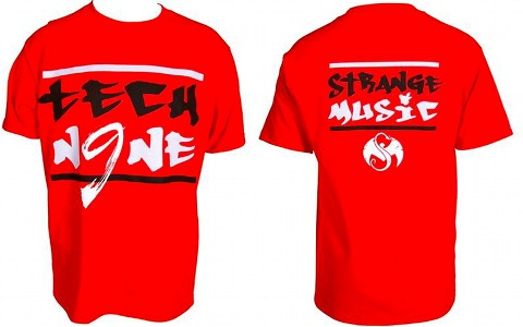 Tech N9ne - Red Painted T-Shirt