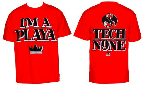 Tech N9ne - Red Playa T-Shirt
