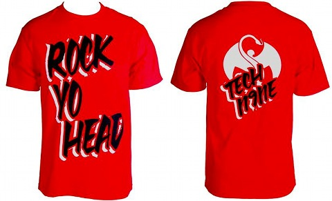Tech N9ne - Red Rock Yo Head T-Shirt