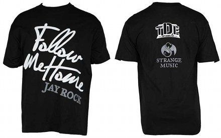 Jay Rock - Black Follow Me Home T-Shirt