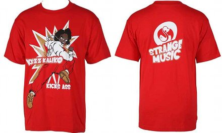 Krizz Kaliko - Red Kick Ass T-Shirt