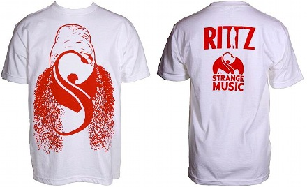 Rittz - White Hair T-Shirt