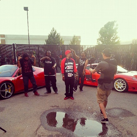 "Stevie Stone - ""2 Birds, 1 Stone"" Music Video Shoot"