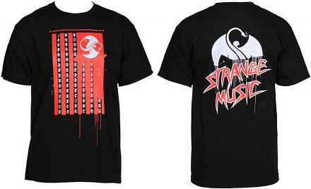Strange Music - Black Flag T-Shirt
