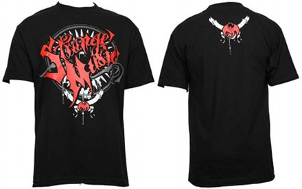 Strange Music - Black Tribal Metal T-Shirt