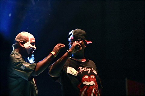 Tech N9ne and Son Dontez