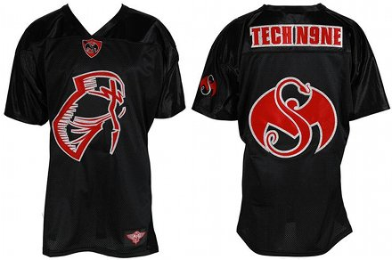 Tech N9ne - Black Facepaint Jersey
