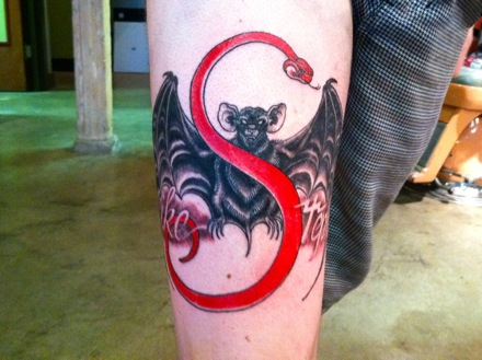 Strange Music Fan Tattoo