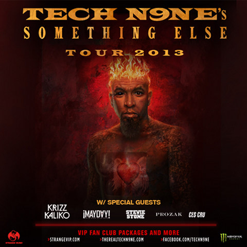Tech N9ne - Something Else Tour