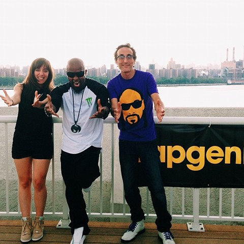 Tech N9ne At Rap Genius HQ