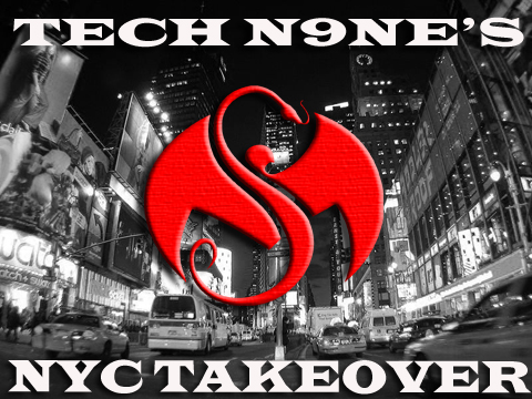 Tech N9ne NYC Takeover