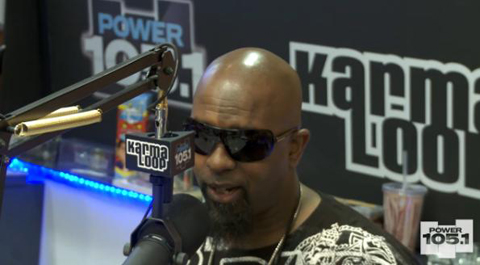 Tech N9ne 105.1 Interview