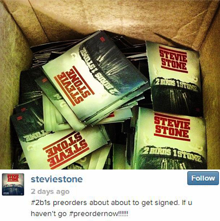 Stevie Stone Signs Pre-Orders