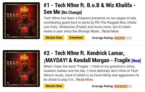 Tech N9ne - Top Of The Charts