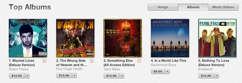 Tech N9ne iTunes All Genres Album Chart