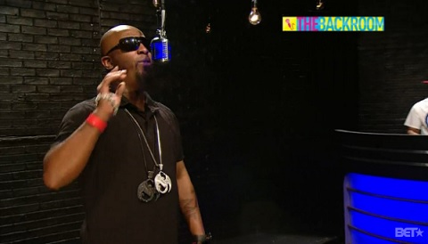 Tech N9ne 106 & Park 'The Backroom' Freestyle