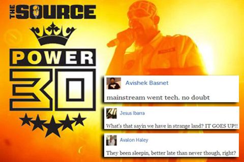 Power 30 Reactions
