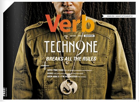 Tech N9ne Verb Magazine