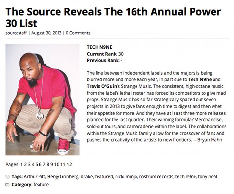 Tech Power 30
