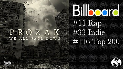 Prozak Billboard Numbers