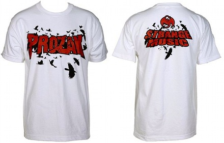 Prozak - White Birds T-Shirt