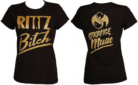 Rittz - Ladies Black Rittz Bitch T-Shirt
