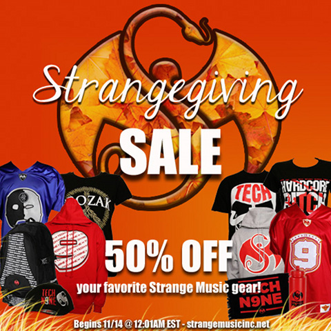 Strangegiving Sale 480
