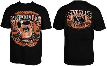 Tech N9ne - Black Caribou Lou 2013 T-Shirt