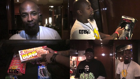 Tech N9ne On Tour Bus