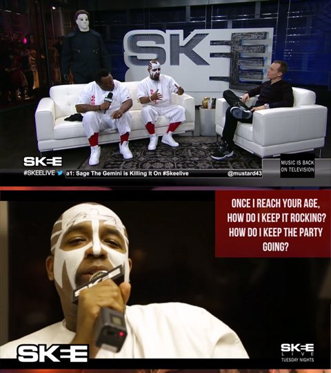 Tech N9ne on Skee
