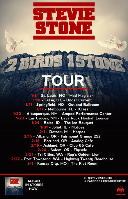 Stevie Stone Tour Dates