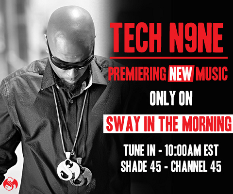 Tech N9ne On Sway In The Morning