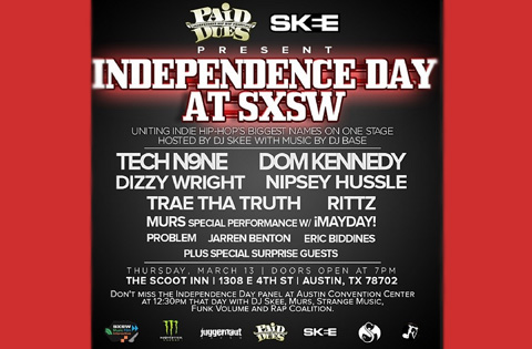 SXSW Independence Day Flyer2