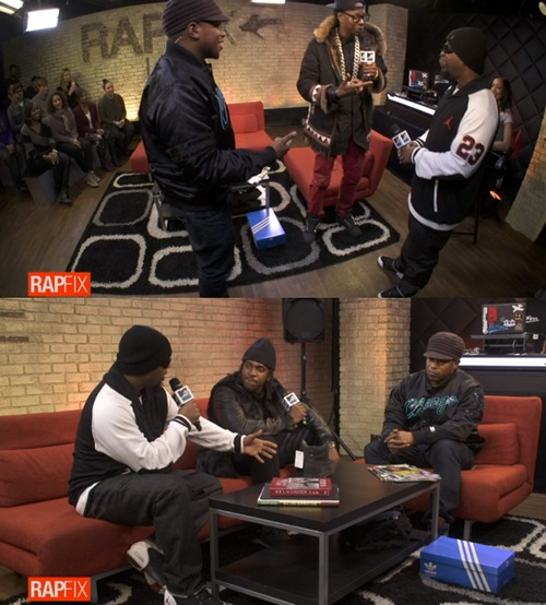 Tech N9ne 2 Chainz Pusha T Rapfix 2014