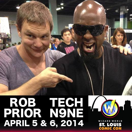 Tech N9ne Rob Prior Comic Con