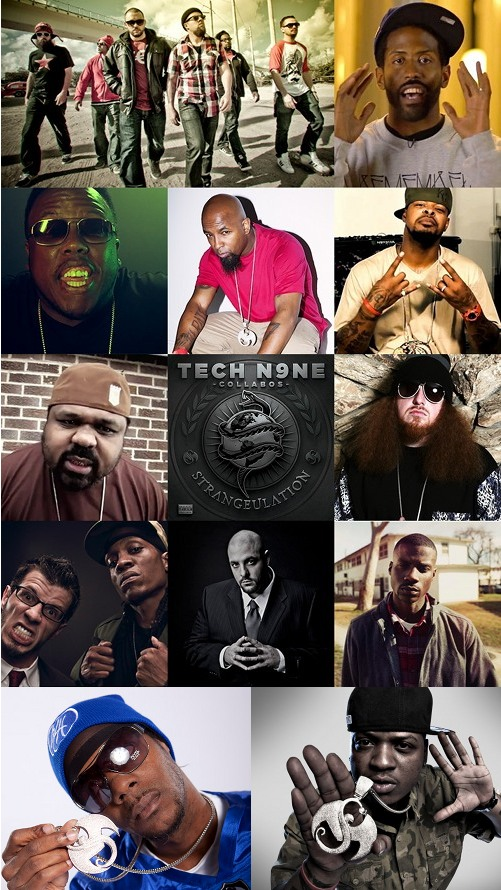 Tech N9ne Strangeulation Mosaic