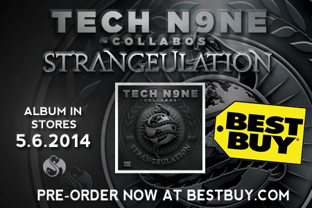 Tech N9ne Strangeulation - Best Buy