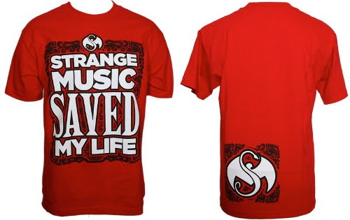 Strange Music Red Saved My Life